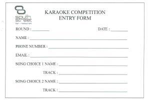 Karaoke Competition Ale House 001
